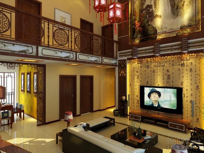 质朴42平混搭复式客厅设计案例客厅潮流混搭客厅设计图片赏析