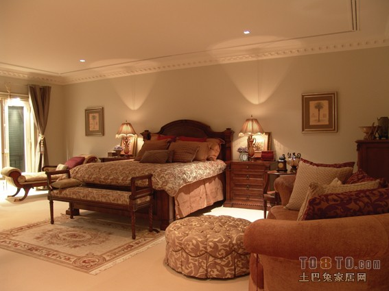 大气110平混搭四居卧室设计效果图卧室潮流混搭卧室设计图片赏析