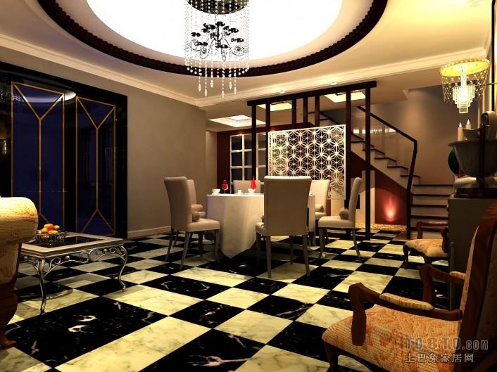 2018面积130平复式客厅混搭装饰图客厅潮流混搭客厅设计图片赏析