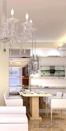 精致111平混搭三居餐厅效果图厨房潮流混搭餐厅设计图片赏析