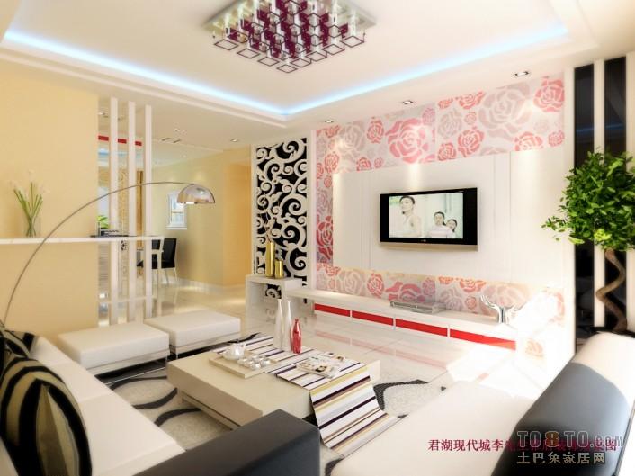 轻奢119平混搭三居客厅装饰美图客厅潮流混搭客厅设计图片赏析