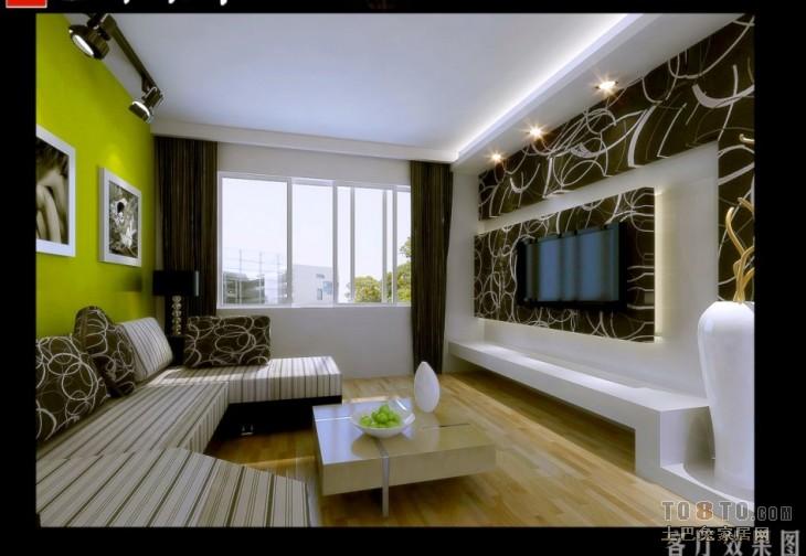 精选81平混搭二居客厅效果图片客厅潮流混搭客厅设计图片赏析