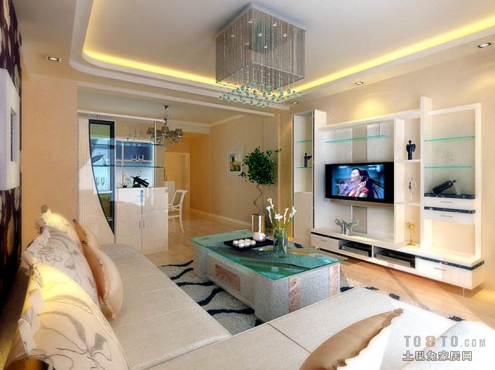 热门73平米二居客厅混搭装修图片客厅潮流混搭客厅设计图片赏析