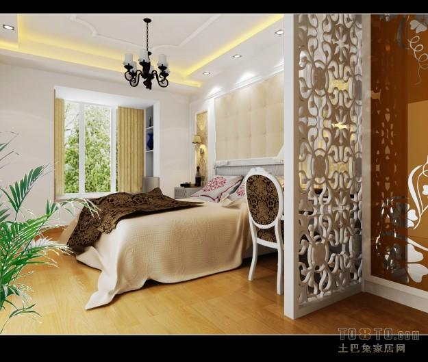 典雅130平混搭四居卧室效果图欣赏卧室潮流混搭卧室设计图片赏析