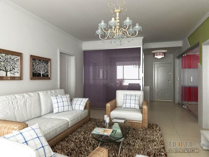 精选74平方二居客厅混搭实景图片客厅潮流混搭客厅设计图片赏析