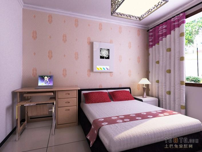 大气78平混搭三居卧室实拍图卧室潮流混搭卧室设计图片赏析