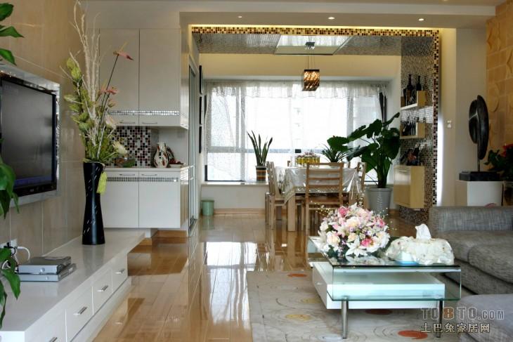 浪漫108平混搭三居客厅装修装饰图客厅潮流混搭客厅设计图片赏析