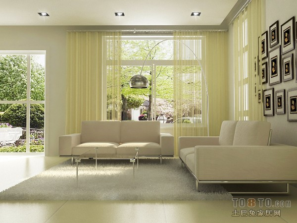 优雅70平混搭三居客厅装修图片客厅潮流混搭客厅设计图片赏析