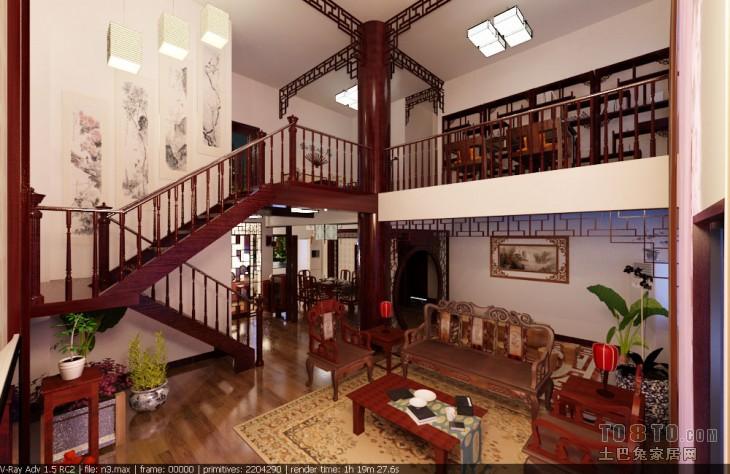 2018精选130平米混搭复式客厅装修图片欣赏客厅潮流混搭客厅设计图片赏析