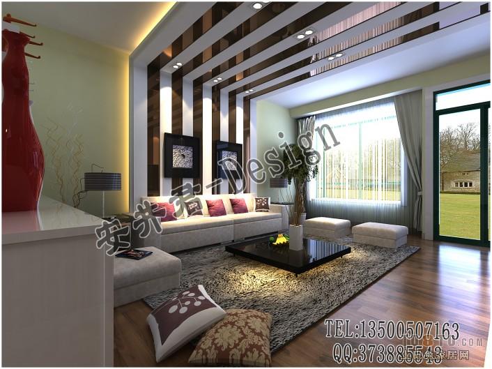 精美95平方三居客厅混搭装修设计效果图片客厅潮流混搭客厅设计图片赏析