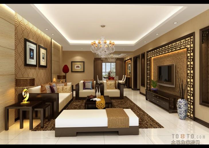 2018精选139平米四居客厅混搭装修设计效果图客厅潮流混搭客厅设计图片赏析