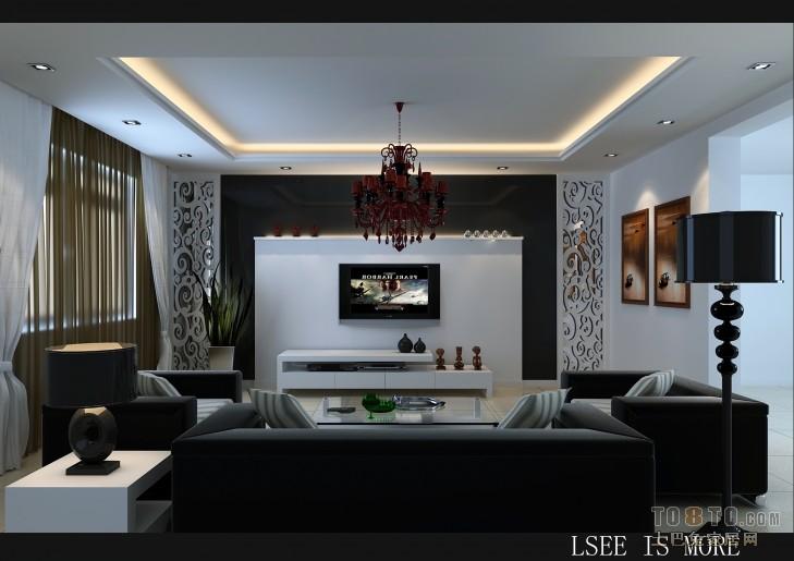 精选97.3平米3室客厅混搭装修图片客厅潮流混搭客厅设计图片赏析