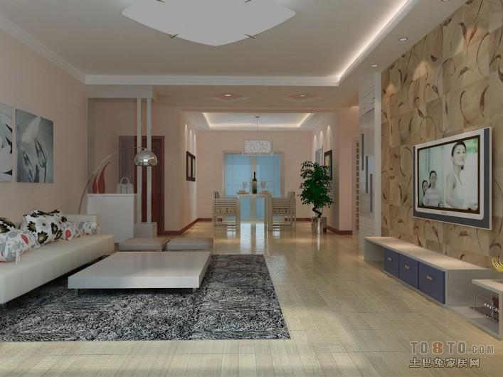 精选大小103平混搭三居客厅装修欣赏图客厅潮流混搭客厅设计图片赏析
