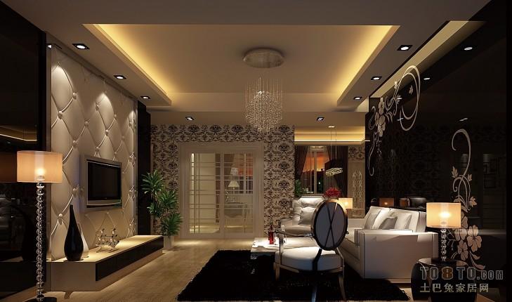 B110客厅客厅潮流混搭客厅设计图片赏析