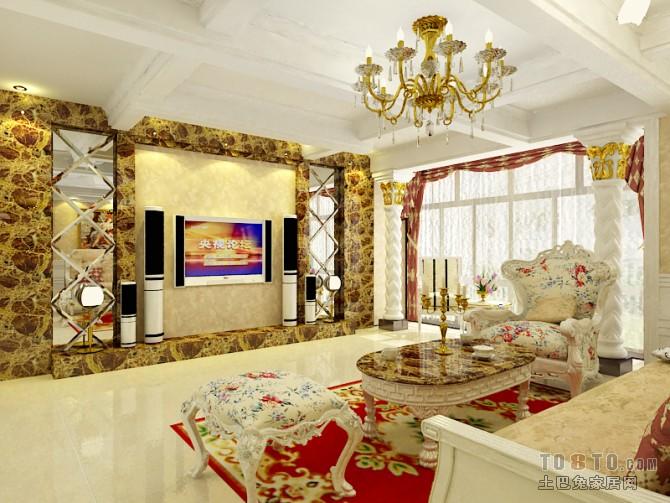 2018面积88平混搭二居客厅装修图片大全客厅潮流混搭客厅设计图片赏析