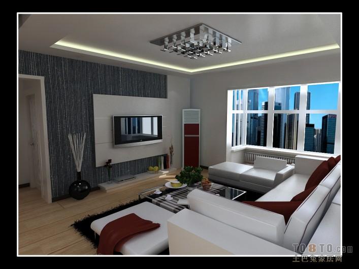悠雅108平混搭三居客厅装饰美图客厅潮流混搭客厅设计图片赏析