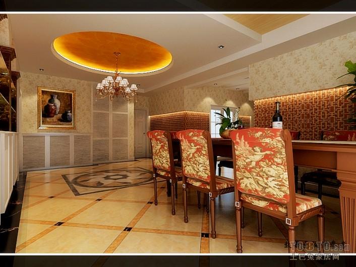 景观360-欧式古典卧室装修效果图图片