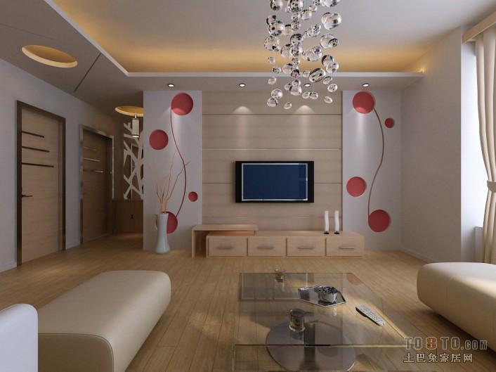 质朴88平混搭二居客厅装修装饰图客厅潮流混搭客厅设计图片赏析