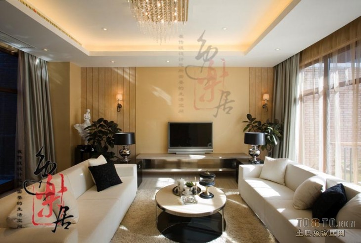 精美74平混搭复式客厅实拍图客厅潮流混搭客厅设计图片赏析