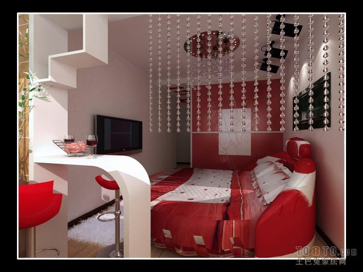 精美115平混搭三居卧室装修案例卧室潮流混搭卧室设计图片赏析