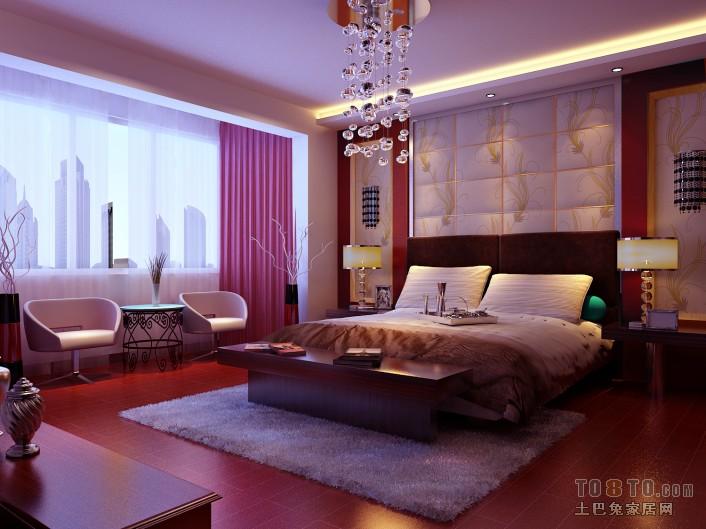 平混搭二居卧室装修美图卧室潮流混搭卧室设计图片赏析