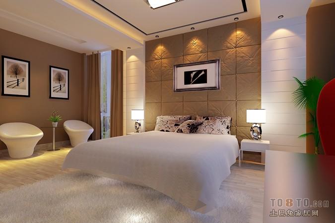 主人房0303卧室潮流混搭卧室设计图片赏析
