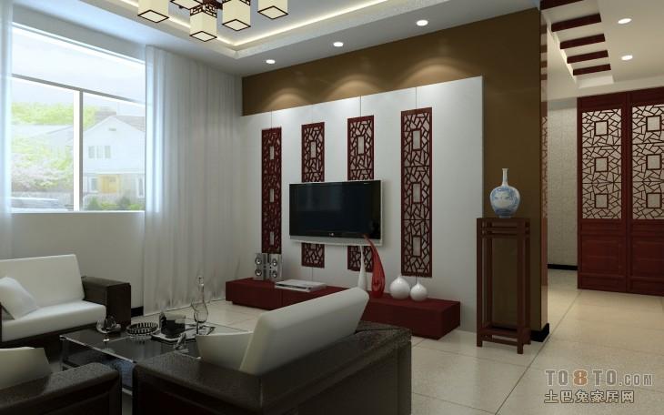 精美85平混搭三居客厅装饰图片客厅潮流混搭客厅设计图片赏析