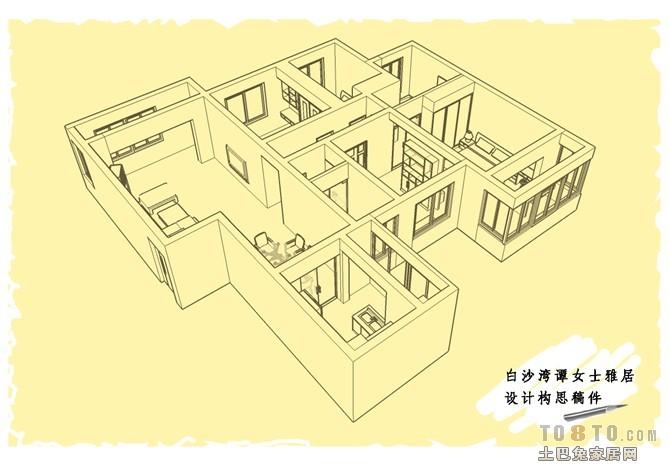 华丽112平混搭四居客厅设计案例客厅潮流混搭客厅设计图片赏析
