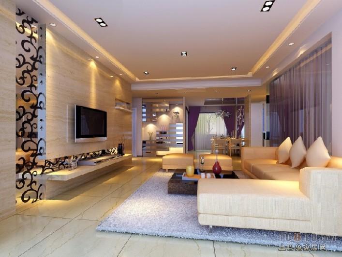 90平二居混搭装修图片客厅潮流混搭客厅设计图片赏析