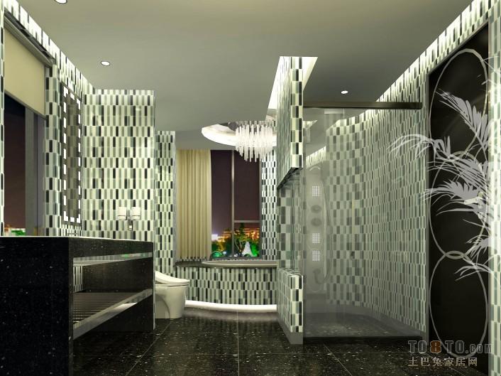优雅117平混搭三居卫生间设计图卫生间潮流混搭卫生间设计图片赏析