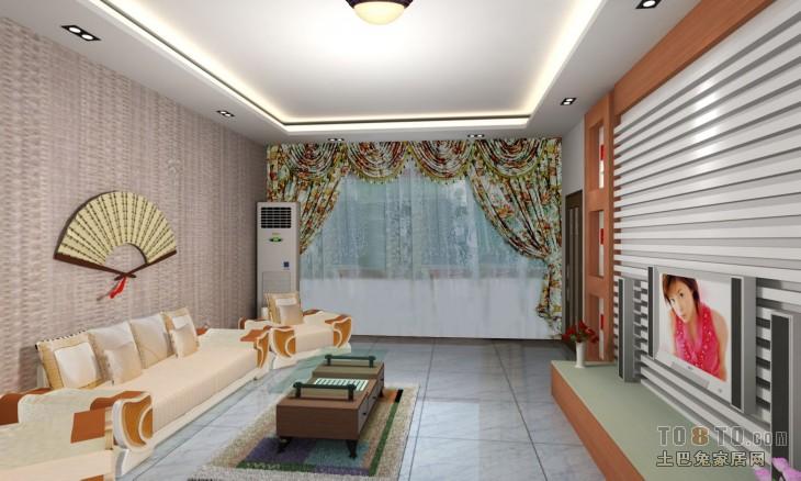 精选混搭3室客厅装饰图片大全102平客厅潮流混搭客厅设计图片赏析