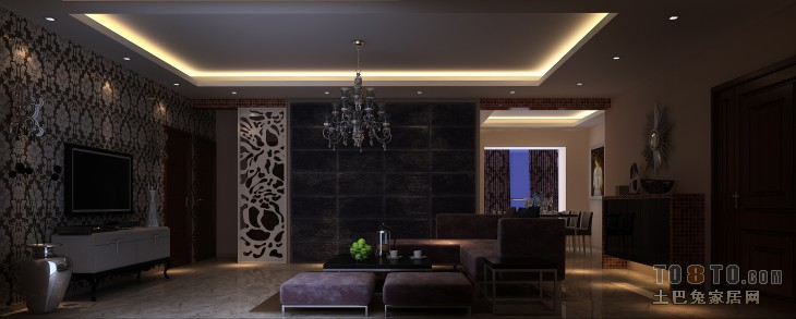 111副本客厅潮流混搭客厅设计图片赏析