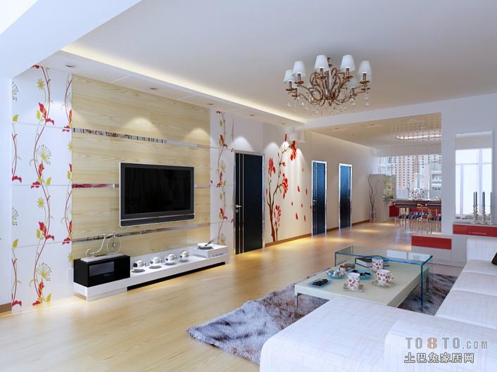 精美77平混搭二居客厅效果图片客厅潮流混搭客厅设计图片赏析