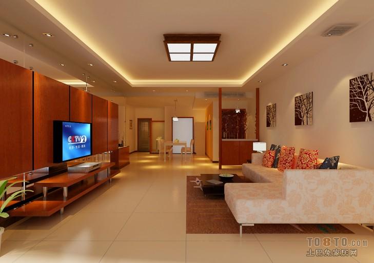 平方三居客厅混搭装修欣赏图片客厅潮流混搭客厅设计图片赏析