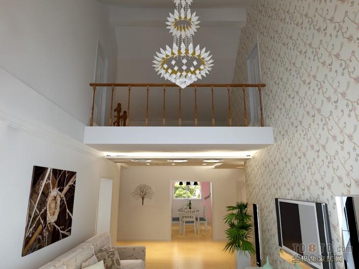 精选132平米混搭复式客厅装修实景图片大全客厅潮流混搭客厅设计图片赏析