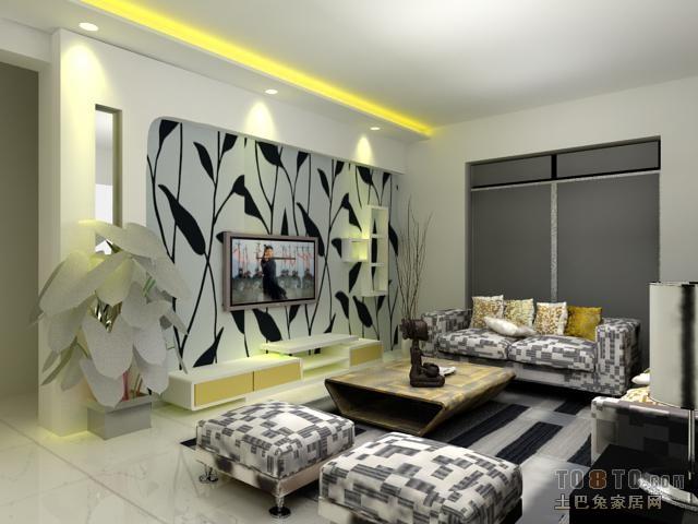 精选面积97平混搭三居客厅效果图客厅潮流混搭客厅设计图片赏析