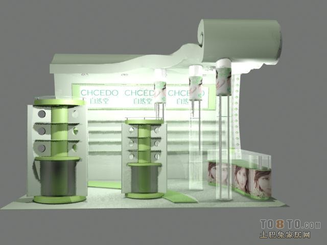 最新二手展柜图片商业展示其他设计图片赏析