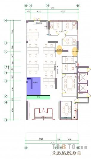 不变格局的布置办公空间设计图片赏析
