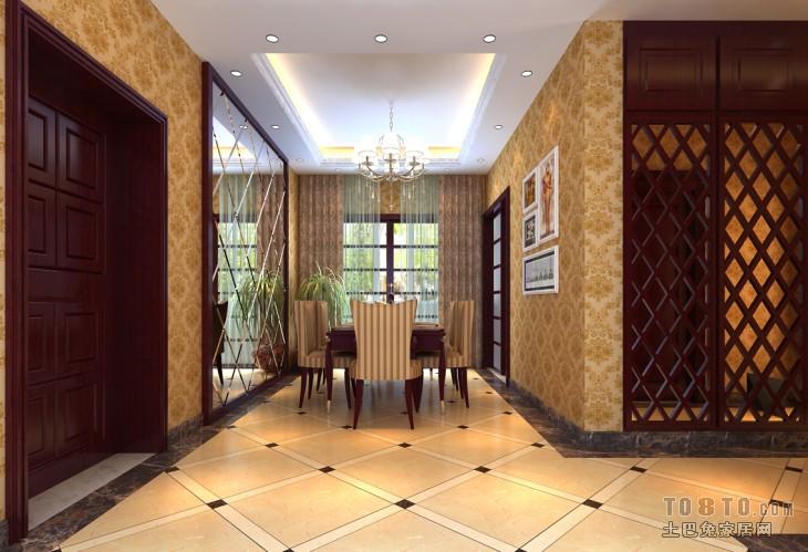 热门126平米四居餐厅混搭装修实景图片厨房潮流混搭餐厅设计图片赏析