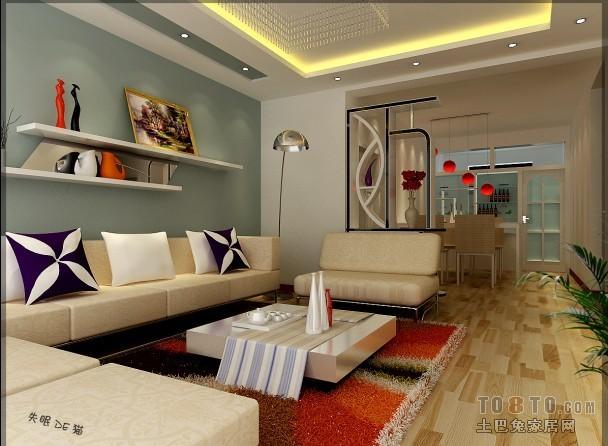 2222客厅潮流混搭客厅设计图片赏析