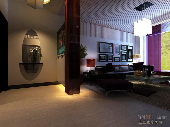 0201客厅潮流混搭客厅设计图片赏析