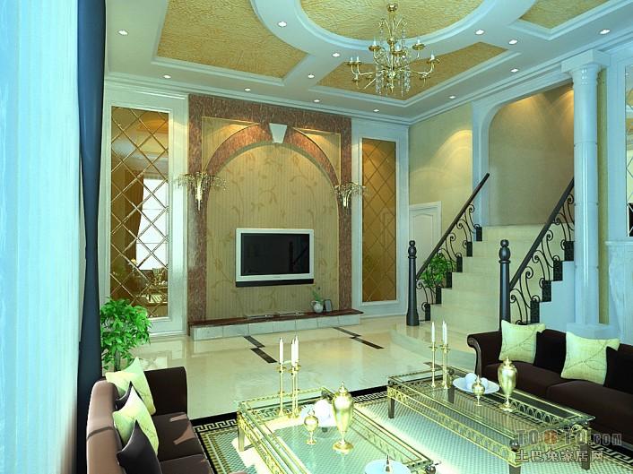 2018精选面积137平复式客厅混搭欣赏图片客厅潮流混搭客厅设计图片赏析