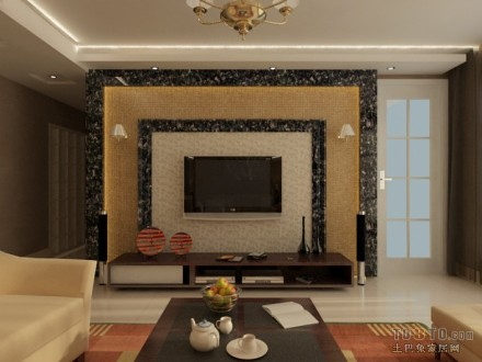 精美124平米混搭复式客厅装修效果图片欣赏