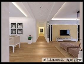 简美80平米2室一厅效果图