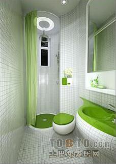 现代风格卫生间装修效果图 高清图片