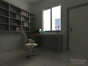 欧式豪华卫生间浴室效果图