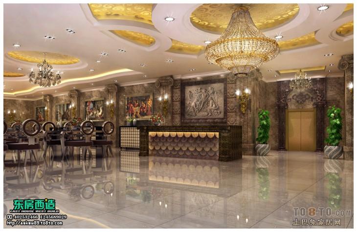 效果图列表 所属案例:冰岛海鲜酒店 石狮永宁冰岛海鲜酒楼大厅_1图片