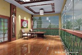 悠雅40平混搭小户型客厅装饰美图