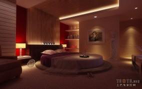 120平三室两厅两卫卧室装修