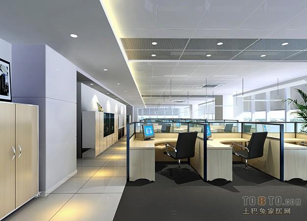 佳程广场写字楼-办公空间装修效果图